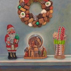 See's Chocolate Santa