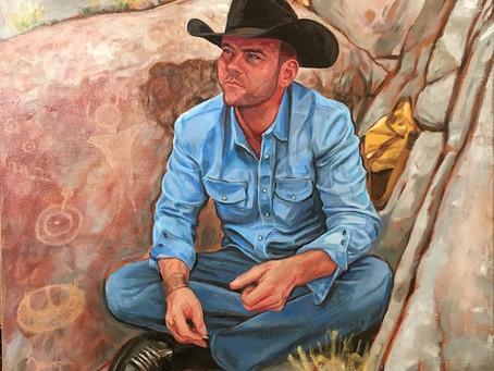 """Communion"" (portrait of Cody)"