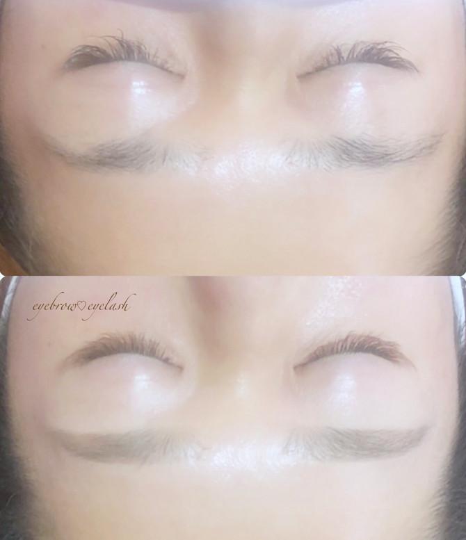 eyebrow♡eyelashでお顔も衣替え♥️