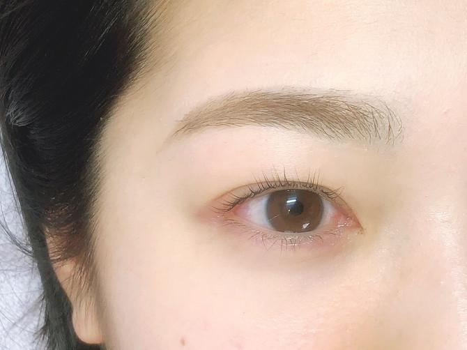 eyebrow×eyelashでお顔の印象UPですね