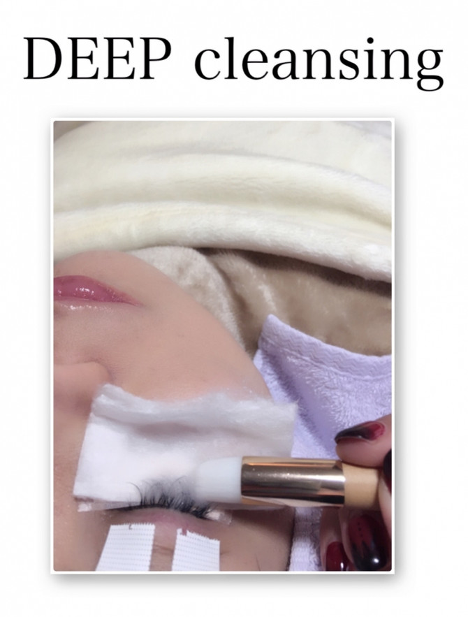 DEEP cleansing♡まつ毛もシャンプーしてあげてください╰(*´︶`*)╯♡
