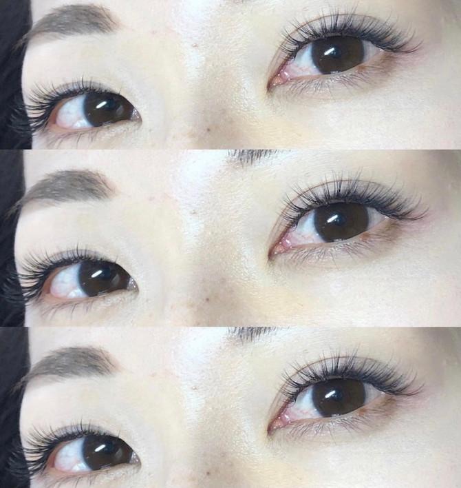 マツエクで吸い込まれそうな瞳に♥️