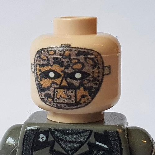 Printed Head German Elite Sniper Oak Camo Face Mask
