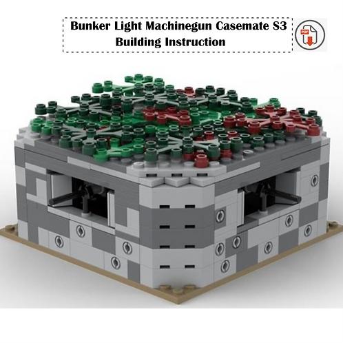 Bunker Light Machinegun Casemate S3 - Building Instruction