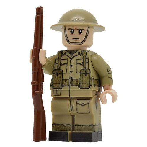 WW2 British Army Rifleman (Mid-late war)