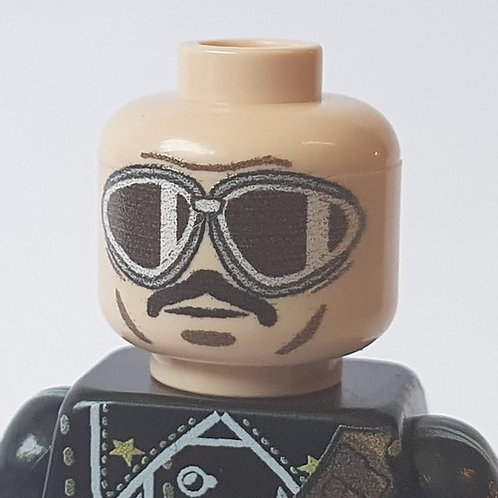 Printed Italian Tanker Head with Googles