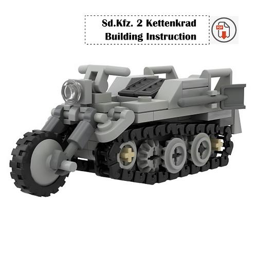Sd.Kfz. 2 Kettenkrad Building Instruction
