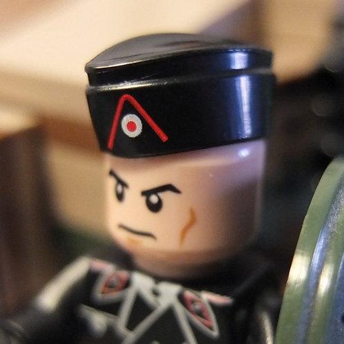 WW2 German M38 Panzer Side Cap