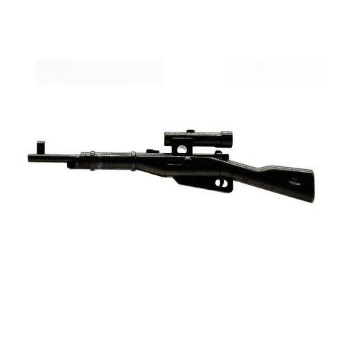 WW2 Mosin–Nagant Sniper Rifle with Scope