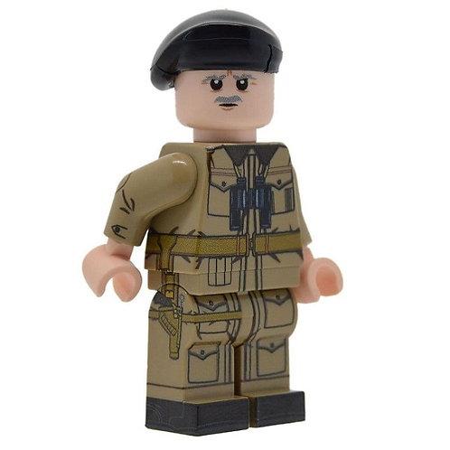 WW2 British Tank Commander