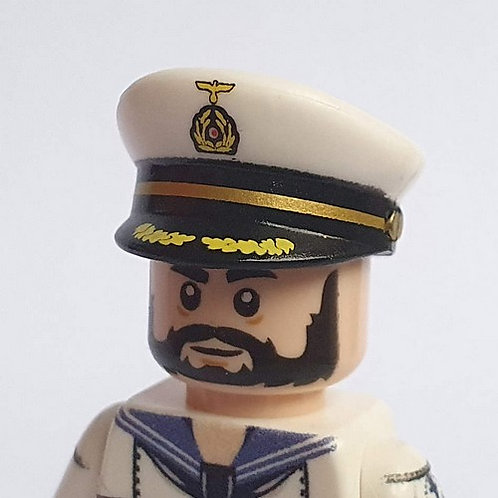 WW2 Kriegsmarine Captain Visor Cap