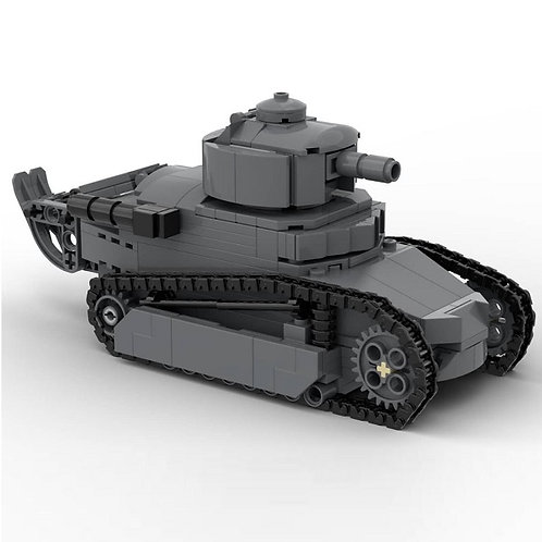 Renault FT-17 French Light Tank Building Instruction