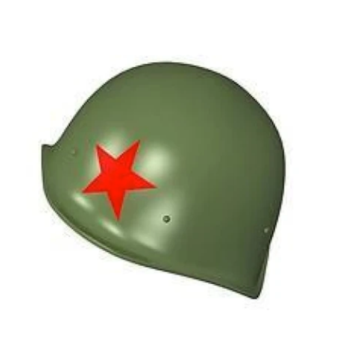 Soviet Helmet SSh-40 with Red Star