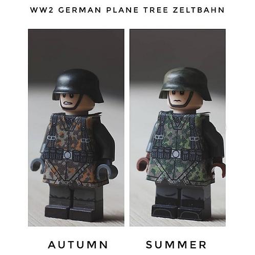 WW2 German Plane Tree Camo Zeltbahn