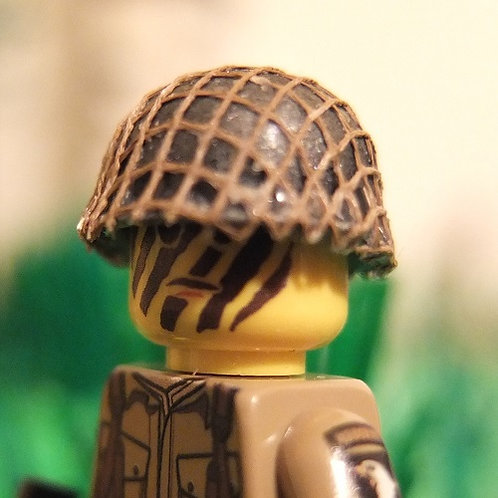 US Army M1 Helmet With Netting Cover