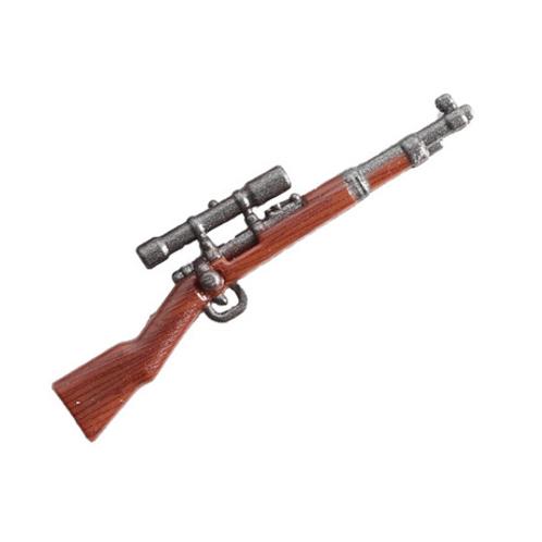 Mauser Karabiner 98K Sniper Rifle Wood Print