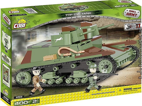 Cobi 7TP DW Polish light tank