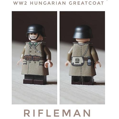 WW2 Hungarian Greatcoat Rifleman