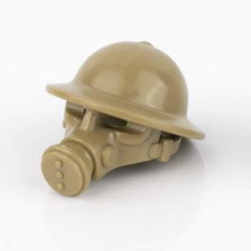 MK II Brodie Helmet with Gas Mask