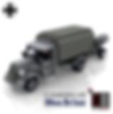 BlueBrixx Opel Blitz with smoke mortar_0