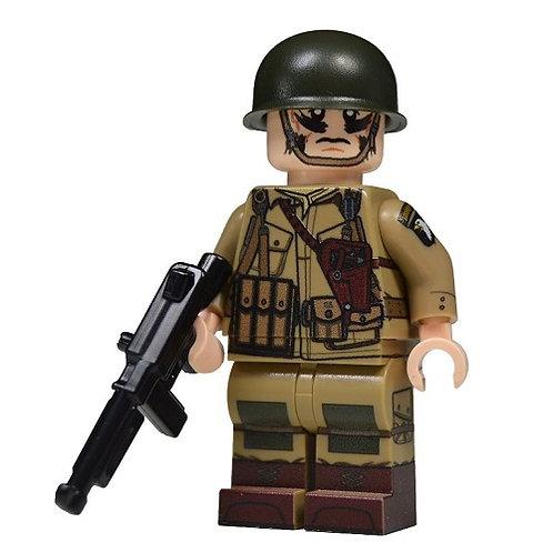 WW2 U.S. Paratrooper NCO Minifigure