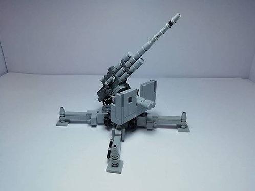 Flak 88 anti-aircraft and anti-tank artillery gun