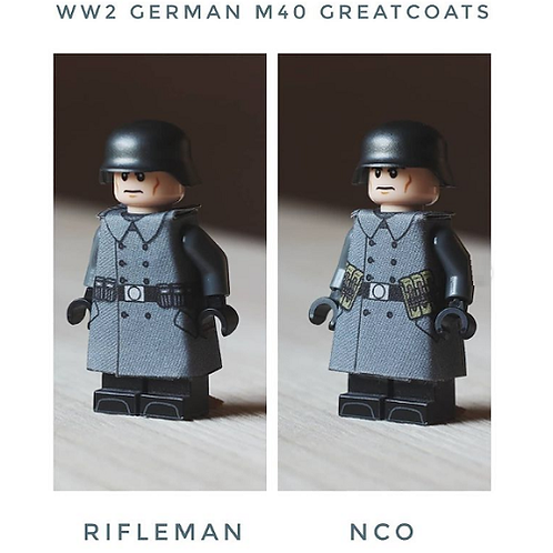 WW2 M40 German Greatcoat