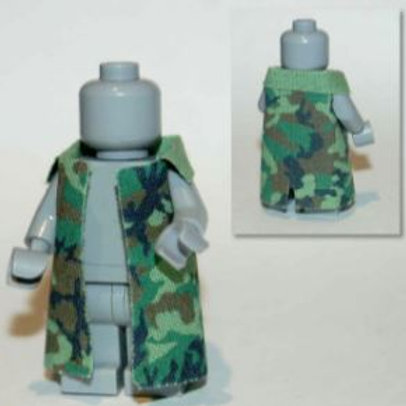 AR Trench Coat with Woodland 90 camo print