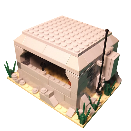 Small MG Bunker with Radio Facility