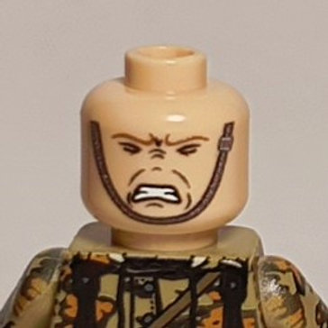 Pain Head with Chinstrap
