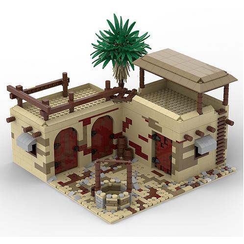 Desert Outpost - Building Instruction