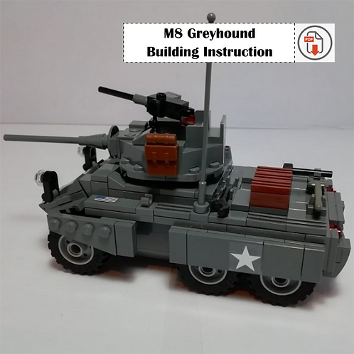 M8 Greyhound Building Instruction