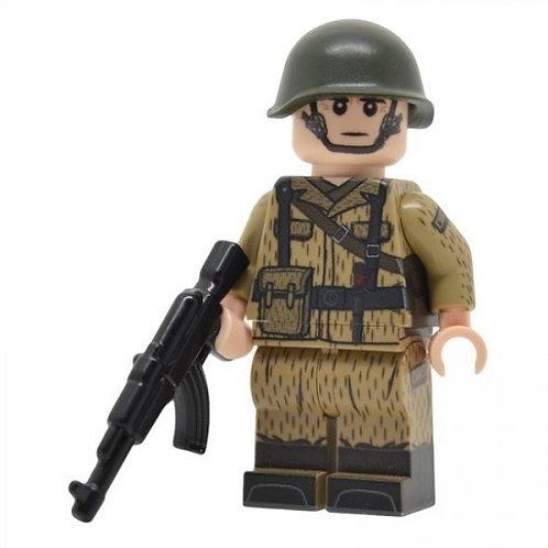 Cold War East German Soldier