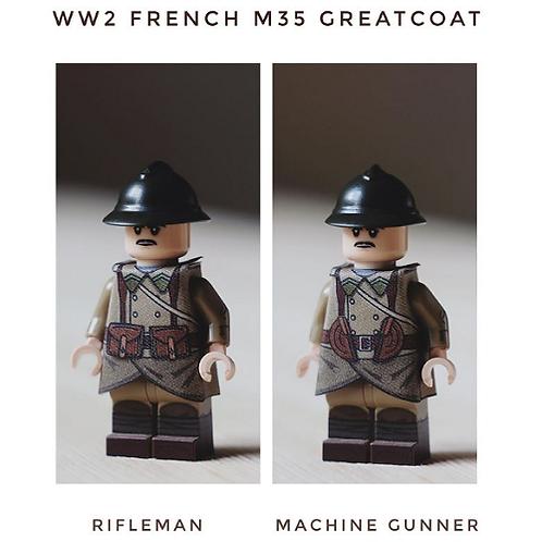 WW2 French M35 Greatcoat