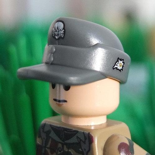 WW2 German Mountain Troops M43 Field Cap (Gebirgsjäger Bergmütze)