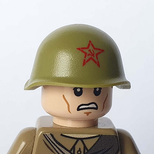 WW2 Russian Helmet SSh-40 with Soviet Star