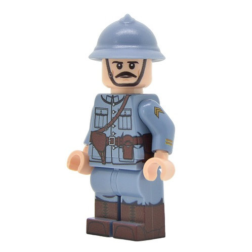 WW1 French Officer (Mid-Late War)