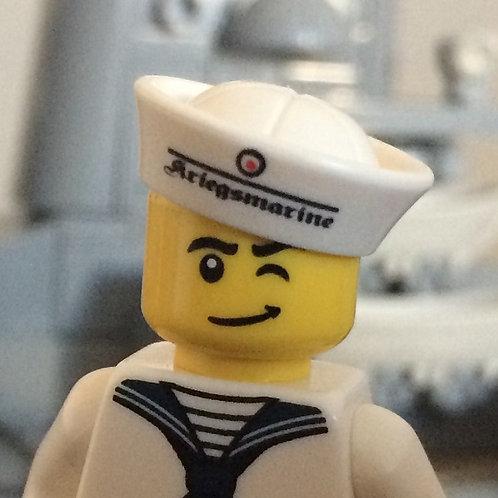 German WW2 Kriegsmarine Sailor Cap (Tellermütze)