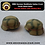 Thumbnail: WW2 German Stahlhelm Italian Front Turtle Shell Camo with Bailing Wire
