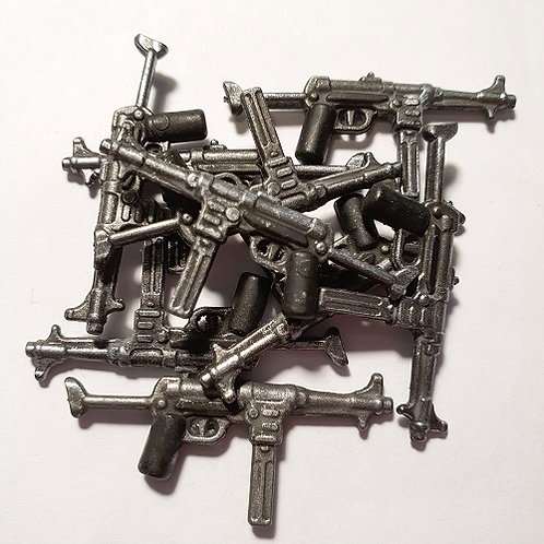 WW2 German MP-40 Submachine Gun Extended Stock
