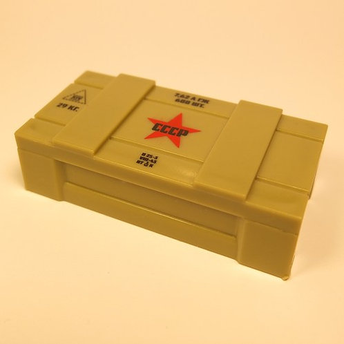 Printed Russian Ammo Crate
