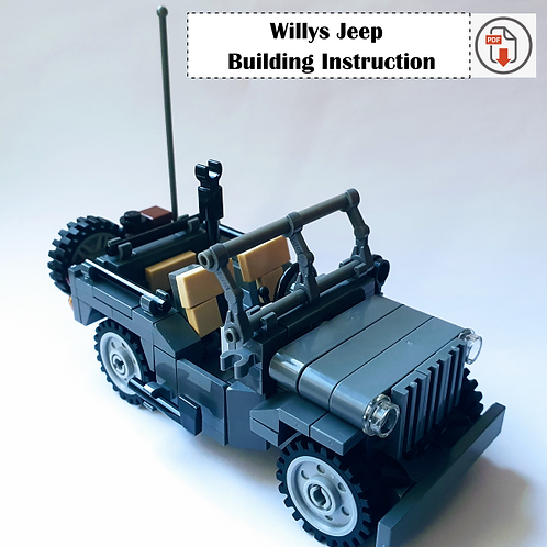'Willys Jeep' Building Instruction