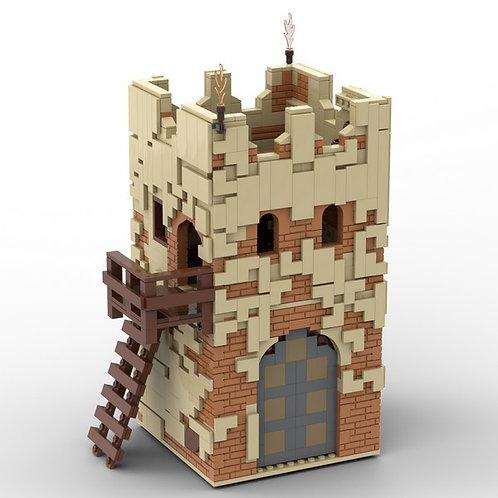 Desert Guard Tower - Building Instruction