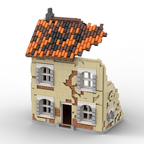 Ruined French House - Building Instruction
