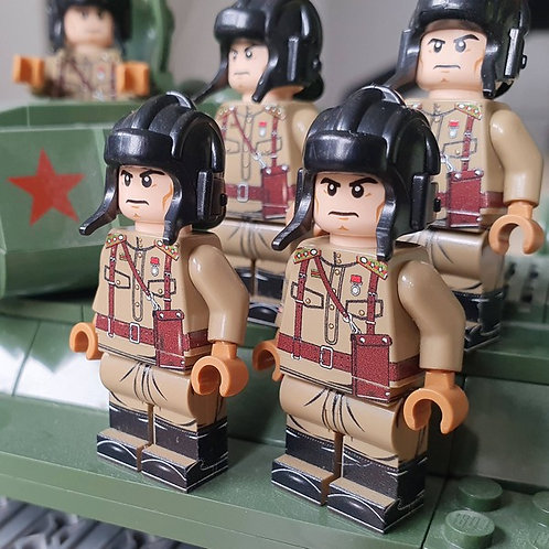 WW2 Russian/Soviet Tanker (Tank Crew Member)