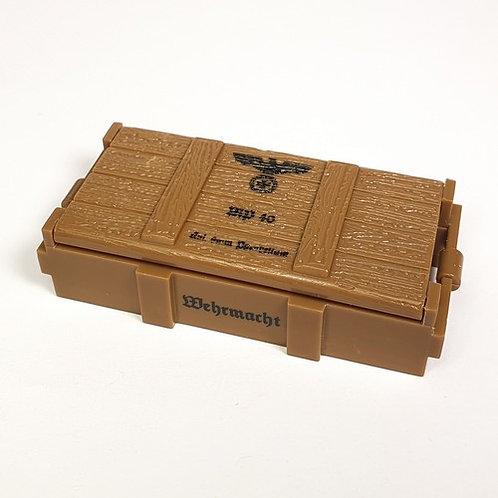 Printed German MP40 Wooden Crate
