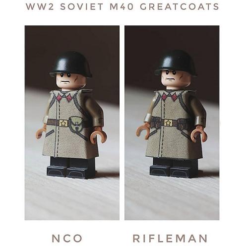 WW2 Soviet M40 Greatcoat
