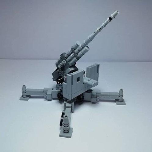 Flak 88 Gun Building Instruction