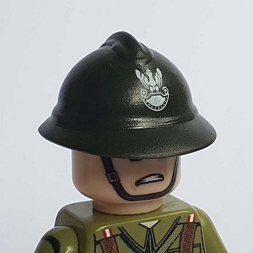 WW2 Polish Adrian Helmet