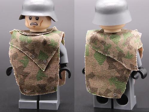 WW2 German Splinter Camouflage Poncho Set